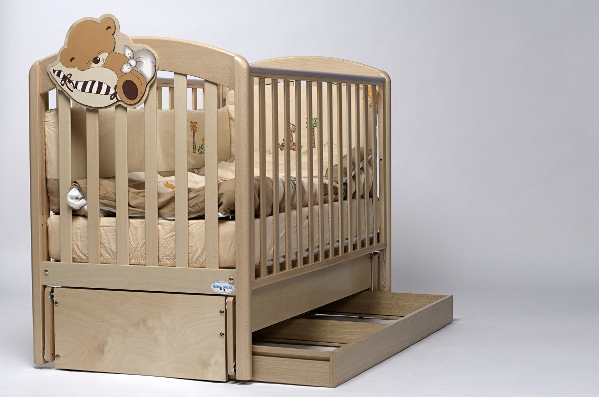 Детская кроватка Bambolina Divina Glamour Cristallo